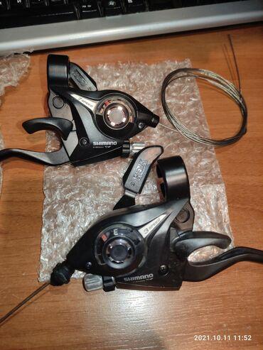 210 elan | VELOSIPED AKSESUARLARI: Shimano shifter,yeni işlənməyib,cütü 40 azn