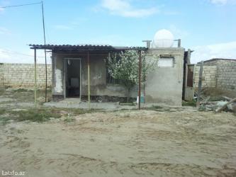 Bakı şəhərində Hövsanda 2 otaqlı həyət evi. Ümumi həyət deyil. 5 sotun içində tək