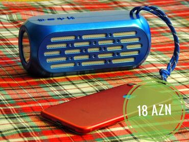 IPod və MP3 Pleyerlər - Azərbaycan: Bluetooth'lu telefonlara qoşulur Yüksəs səs akustikası İdman zalları