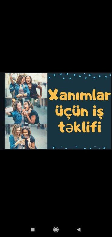 it yemi - Azərbaycan: Xanimlar üçün marketing reklam isi.Artiq xanimlar evden cixmadan oz