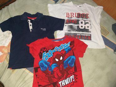 Majice za dečaka, veličina 4