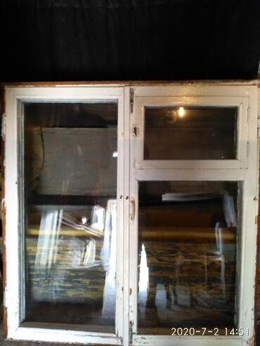 Продам окно б/у(104серии)с коробом 1300см/1400см. Цена договорная