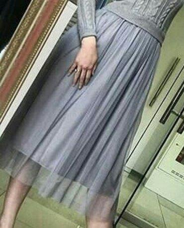 Такая юбка но белая. отл. сост. в Бишкек