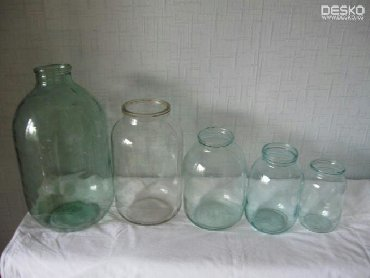 термокега 25 литр в Кыргызстан: Банки стеклянные. 1 литр 10 сом, 2 литра 15 сом, 3 литра 20 сом в