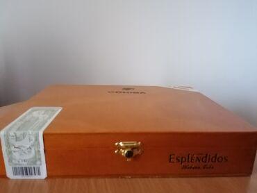 Πούρα Αβάνας, Cohiba robustos και esplendidos πωλούνται λόγω μη χρήση