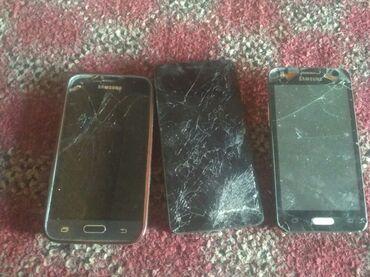 Мобильные телефоны и аксессуары в Кок-Ой: Прадаю телефоны 3 одно диспле работают самсунг коре 2 работают дисплей