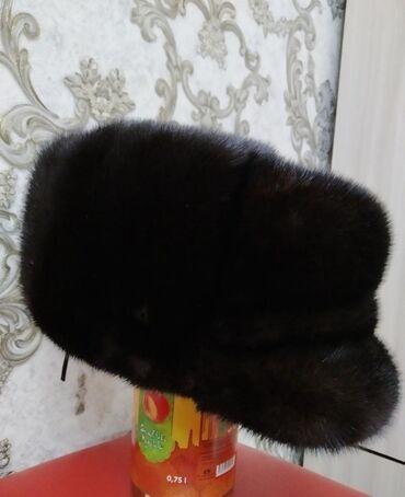 купить диски на камри 40 в Кыргызстан: Мужская норкавая шапка, Новая месяц назад купили