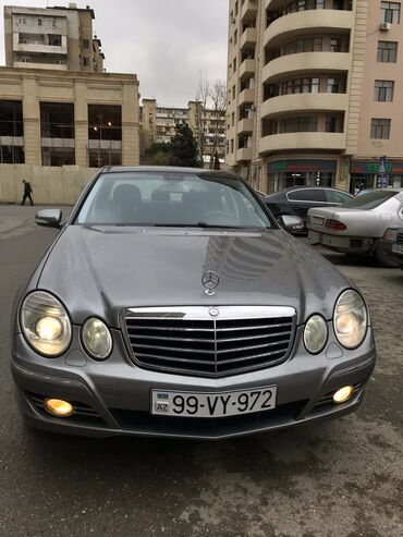 bakida tir tufengleri - Azərbaycan: Mercedes-Benz E 500 1.8 l. 2007 | 252000 km