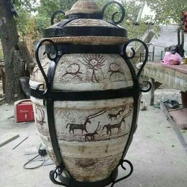 Тандыр для гриля птиц в Бишкек