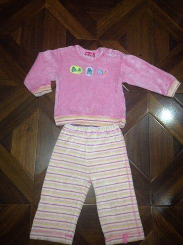Утеплённые штаны и кофта на девочку 2-2,5 г цена 250 в Бишкек