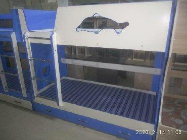 Другие кровати в Кыргызстан: Двухъярусная кровать в наличии и на заказ