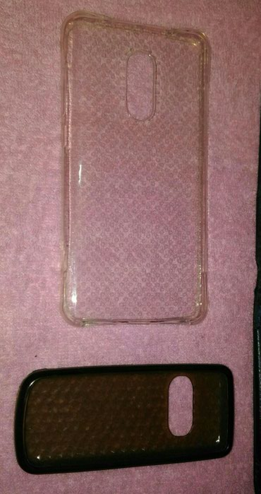 2 новых силиконовых чехла на Nokia и Xiaomi Redme note 4 в Бишкек