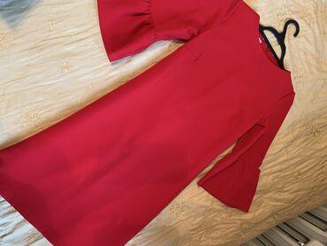 платье в горошек с кружевом в Кыргызстан: Очень красивое,нарядное платье,произ-во Турция,размер S