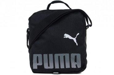сумка черного цвета в Кыргызстан: Сумка спортивная Puma Plus Portable, цвет: черный. 07548601 ТипСумка