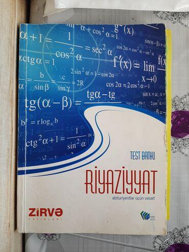 Zirvə Riyaziyyat test bankı Zirvə nəşriyyatı