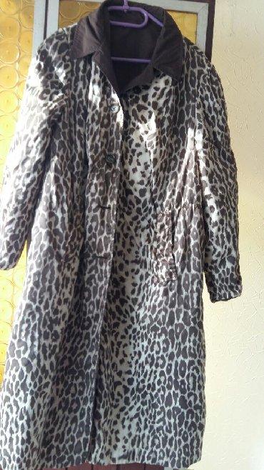 Mantil braon - Srbija: Ženski mantil sa dva lica vel. L/XL polovan,ocuvan,kupljen u Fr.Boje