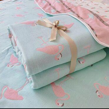 Детские муслиновые одеяла6 слоев, размер 110*110 смОчень мягкие и