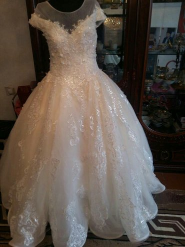 Шикарное свадебное платье на прокат и в Бишкек