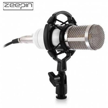 Студийный конденсаторный микрофон zeepin bm-800 используется для в Бишкек