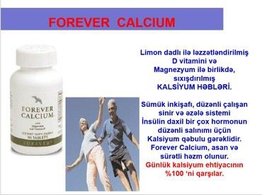 - Azərbaycan: FOREVER CALCIUM (Forever Kalsium)Adi: Forever CalciumTutumu: 90