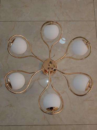 пояльные лампы в Кыргызстан: Люстра потолочная 6 ламп