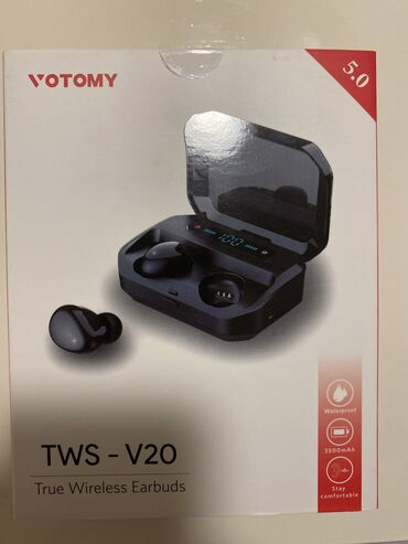 Almaniyadan alınıb. Işlənməyib. Yarı qiymətinə satılır.  TWS Bluetooth
