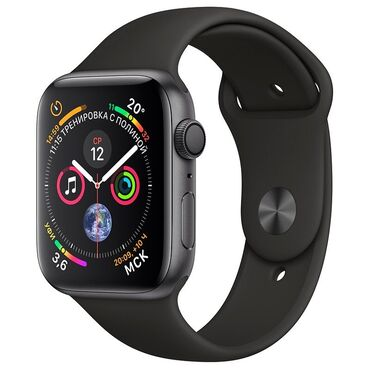vakansii apple в Кыргызстан: Черные Унисекс Наручные часы Apple