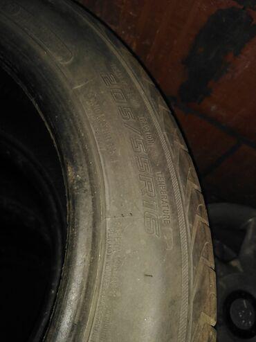 Felne - Srbija: Na prodaju 6 guma Gume letnje 205/55/16 U dobrom stanju sa dosta dobro