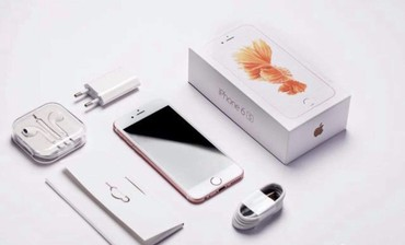 iphone-6s-16gb-gold в Азербайджан: Yeni baglı karobkada Original Apple İPhone 6s Rose Gold 16GB magazada