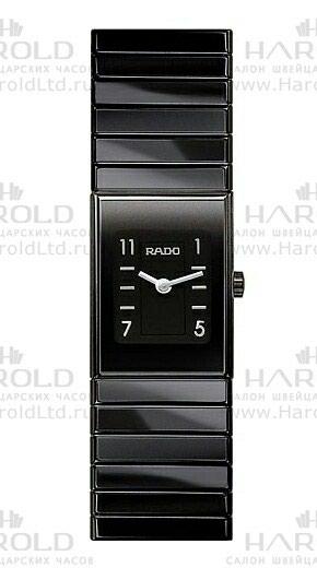 Женские Черные Классические Наручные часы Rado в Бишкек
