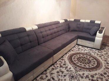 старенький диван в Кыргызстан: Новые, мягкий угловые диваны. Мебельный цех, есть в наличии и можно на