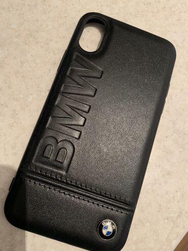 Продаётся классный кожаный чехол BMW на Айфон X/XS.  В отличном состоя