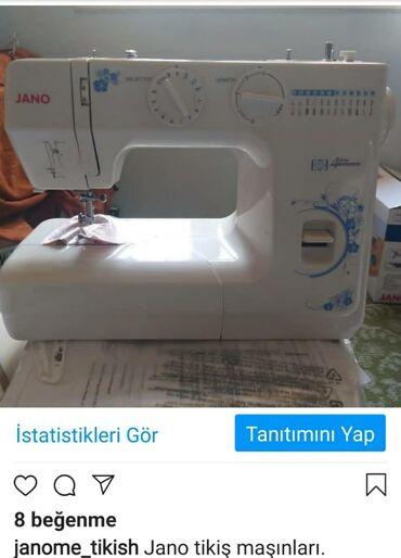 швейный цех в Азербайджан: Jano tikiş maşını. Yenidir