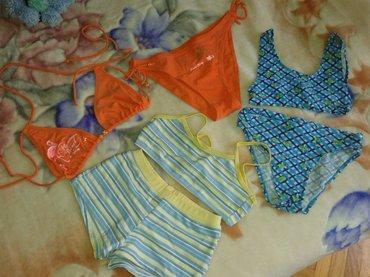 Deciji kostimi plavi za uzrast 10 -11 god. Prugasti plavi za 12 god. - Valjevo