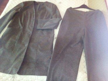 Komplet dvodelni skroz nov pantalone dublje na gimu za starije. gornhi - Subotica