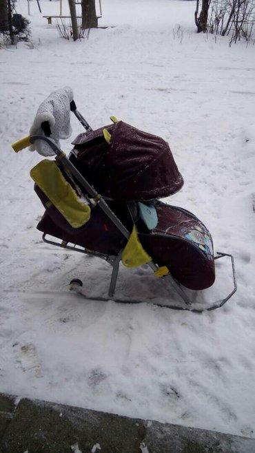 Продаю санки-коляска срочно в Бишкек