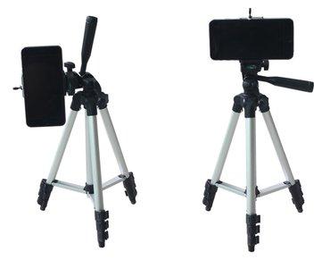 Stativ + drzac za telefon + torba  Stativ za fotoaparate i kamere, - Kragujevac