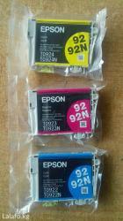 Продаю оригинальные картриджи epson t0922n, в Каракол