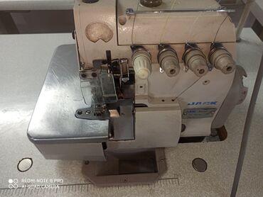 электро швейная машинка в Кыргызстан: 4нитка JackСостояние хорошееБез звучный СрочноПродаю швеный