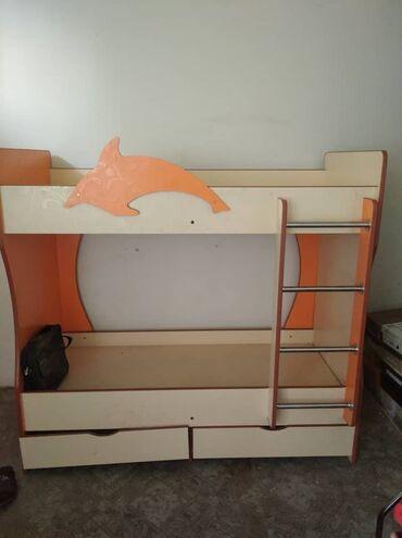 Двухъярусная кровать детский,почти не использовали.Цена договорная