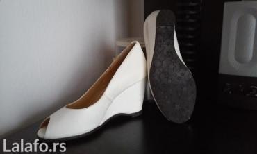 Veoma atraktivne i udobne nove sandale. Visina platforme pozadi 8cm - Novi Sad