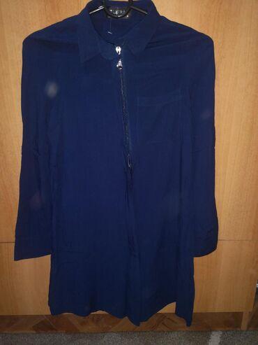 Duks haljina - Crvenka: Kosulja tunika ko je nizi moze kao haljina,sa etiketom, velicina s