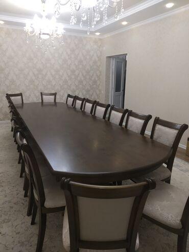 стол и стулья для гостиной в Кыргызстан: Продаются столы и стулья новые. Просто не подходили к дизайну. Стол 4