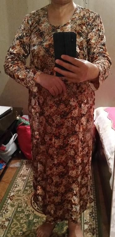 Платье женское б/у хорошее состояние.46 размер.350 сом. в Лебединовка