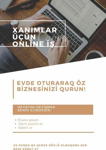 Xanimlar üçün online iş