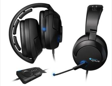 Roccat Kave Solid Real 5.1 Surround Sound Gaming Headset - Trstenik