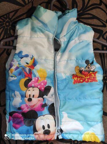 Dečije jakne i kaputi - Vrsac: Deciji prsluk.Pise vel 3, odgovara za uzrast od 2-3.Kao nov,obucen 2-3