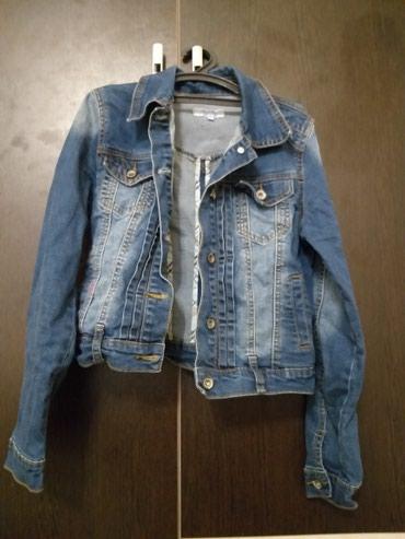 Джинсовая короткая куртка. Покупала в в Бишкек