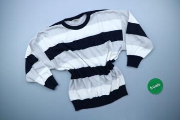 Жіночий светр у смужку VEB р. XXL    Довжина: 57 см Ширина плечей: 58