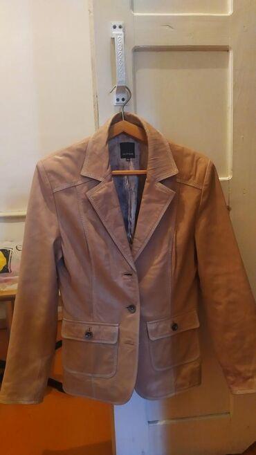 Личные вещи - Кок-Ой: Женская кожаная куртка. Размер 38-40 Распродажа на 8 марта!